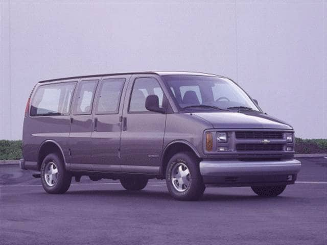 Highest Horsepower Vans/Minivans of 2000 - 2000 Chevrolet Express 1500 Passenger