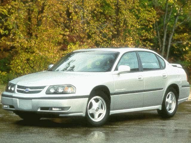 Kelley Blue Book Used Cars Value Calculator >> 2000 Chevrolet Impala Sedan 4D Used Car Prices | Kelley Blue Book