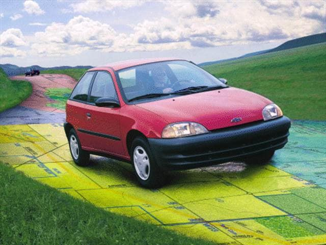 Most Fuel Efficient Coupes of 2000 - 2000 Chevrolet Metro