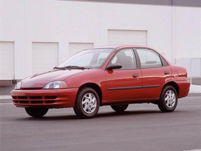 Most Fuel Efficient Sedans of 2000 - 2000 Chevrolet Metro