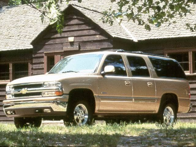 Highest Horsepower SUVs of 2000 - 2000 Chevrolet Suburban 2500