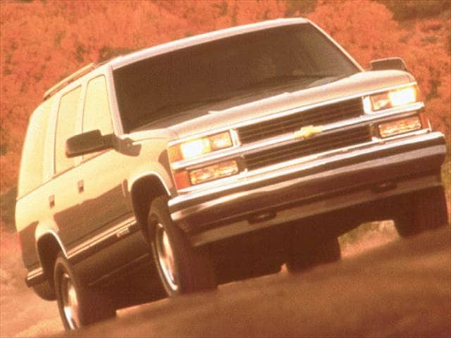Most Popular SUVs of 2000 - 2000 Chevrolet Tahoe