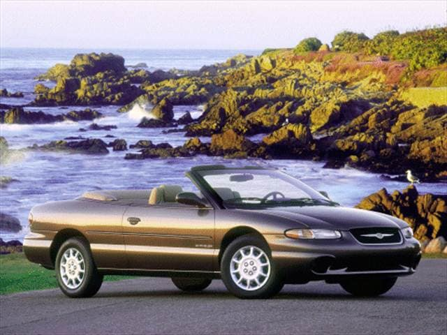 Most Popular Convertibles of 2000 - 2000 Chrysler Sebring