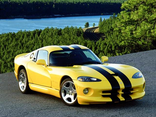 Top Consumer Rated Coupes of 2000 - 2000 Dodge Viper