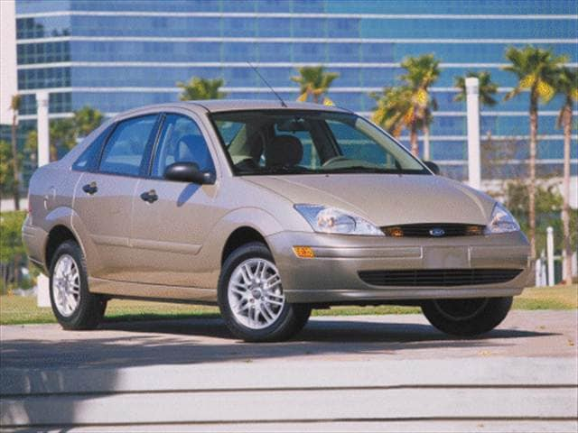 Most Popular Sedans of 2000 - 2000 Ford Focus