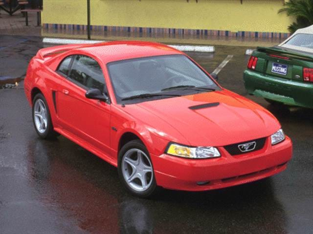 2000 ford mustang coupe 2d used car prices kelley blue book. Black Bedroom Furniture Sets. Home Design Ideas