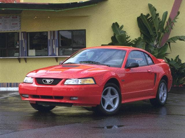 Most Popular Coupes of 2000 - 2000 Ford Mustang