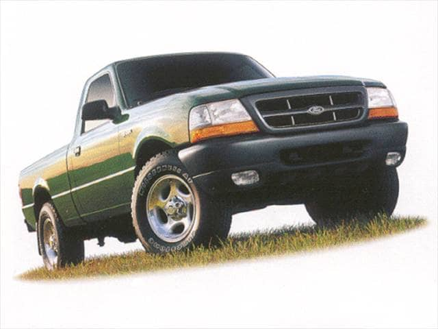 Most Fuel Efficient Trucks of 2000 - 2000 Ford Ranger Regular Cab