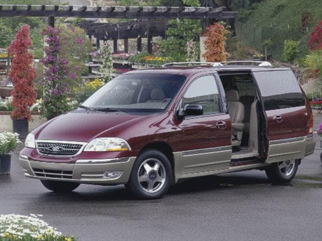 Most Popular Vans/Minivans of 2000 - 2000 Ford Windstar Passenger