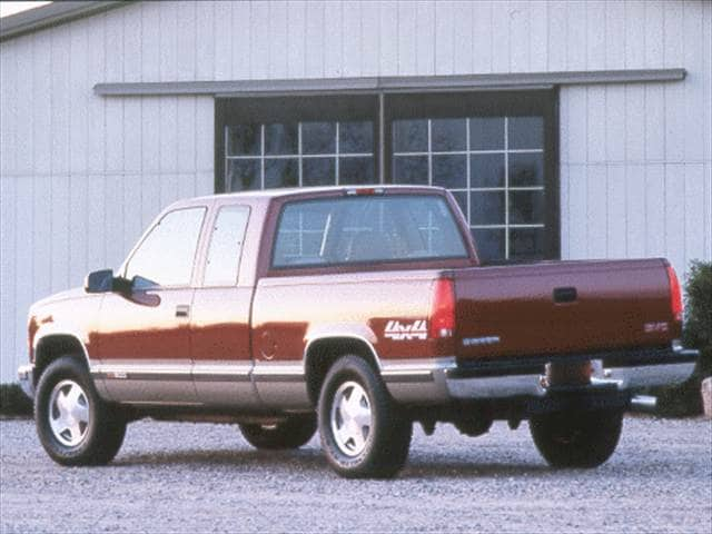 Most Popular Trucks of 2000 - 2000 GMC Sierra (Classic) 2500 HD Extended Cab
