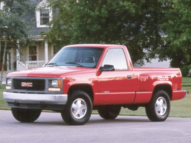 Top Consumer Rated Trucks of 2000 - 2000 GMC Sierra (Classic) 3500 Regular Cab