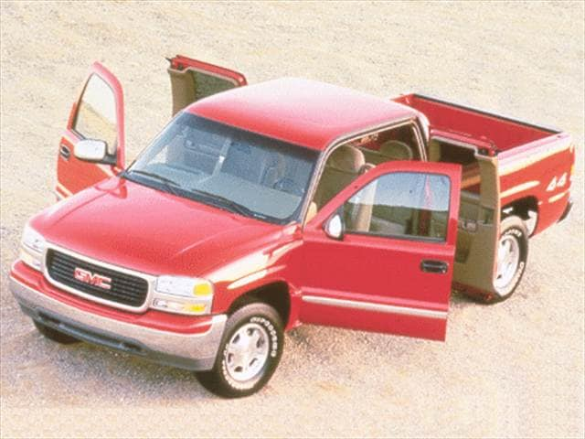 Most Popular Trucks of 2000 - 2000 GMC Sierra 2500 Extended Cab