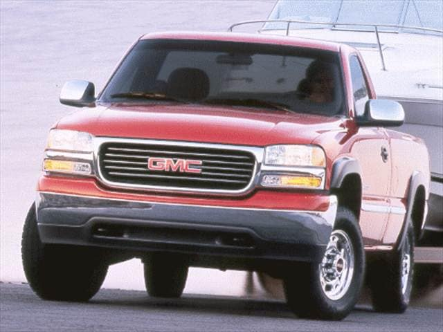 Most Popular Trucks of 2000 - 2000 GMC Sierra 2500 HD Regular Cab