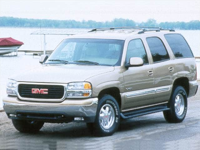 Top Consumer Rated SUVs of 2000 - 2000 GMC Yukon