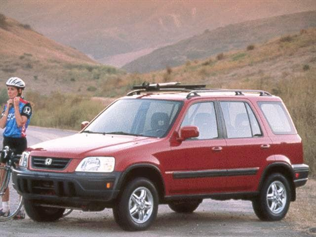 Top Consumer Rated Crossovers of 2000 - 2000 Honda CR-V