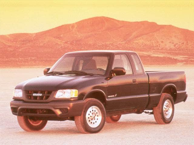 Most Fuel Efficient Trucks of 2000 - 2000 Isuzu Hombre Spacecab