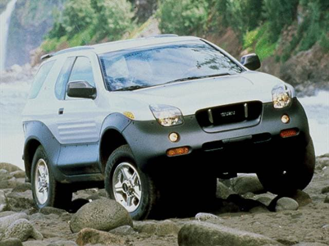 Highest Horsepower Crossovers of 2000 - 2000 Isuzu VehiCROSS