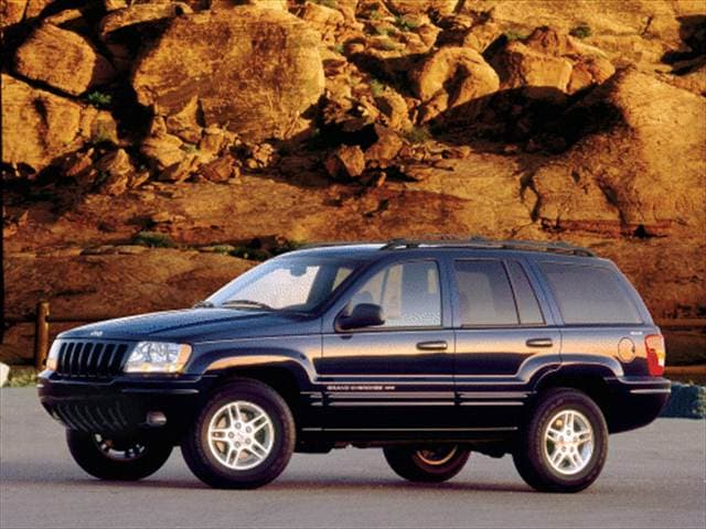 2000 jeep grand cherokee limited sport utility 4d used car prices kelley blue book. Black Bedroom Furniture Sets. Home Design Ideas