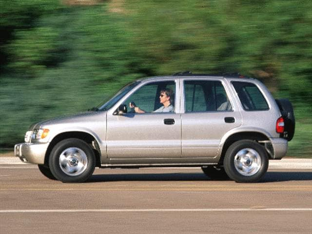 Most Fuel Efficient Crossovers of 2000 - 2000 Kia Sportage