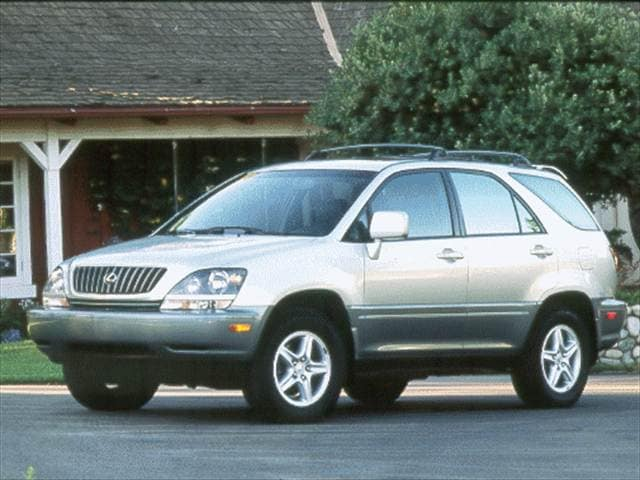 Top Consumer Rated Crossovers of 2000 - 2000 Lexus RX