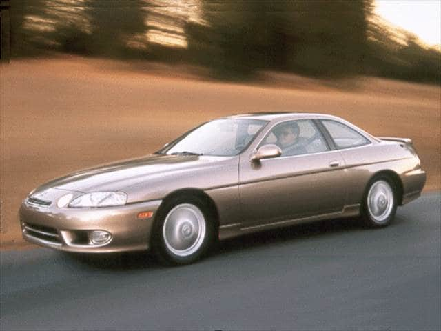 Highest Horsepower Coupes of 2000 - 2000 Lexus SC