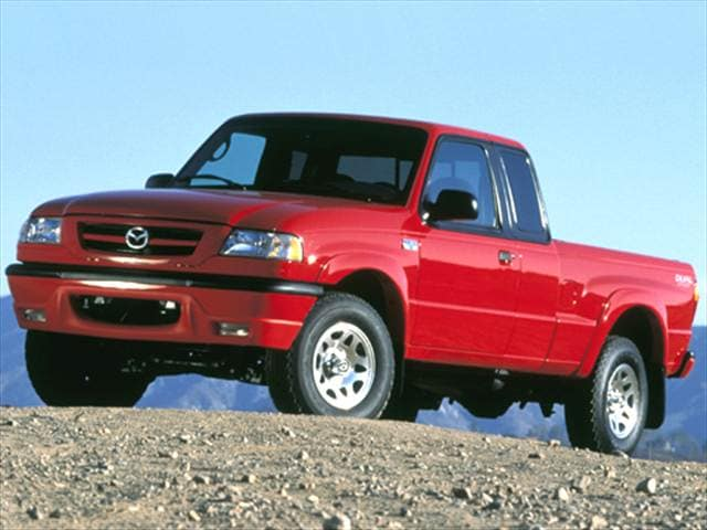 Most Fuel Efficient Trucks of 2000 - 2000 Mazda B-Series Cab Plus