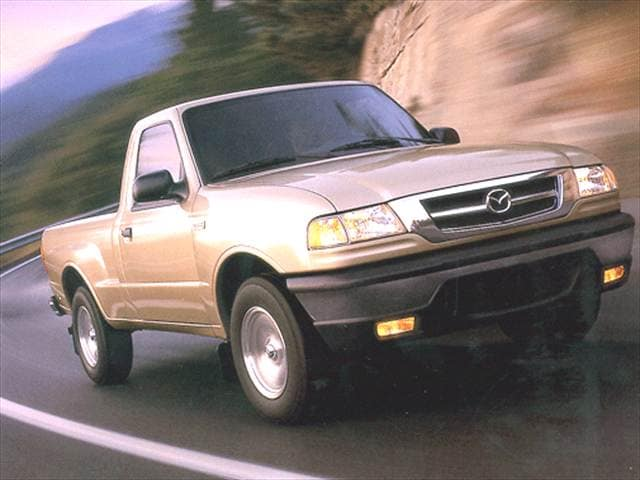 Most Fuel Efficient Trucks of 2000 - 2000 Mazda B-Series Regular Cab