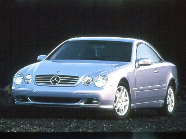 Highest Horsepower Coupes of 2000 - 2000 Mercedes-Benz CL-Class