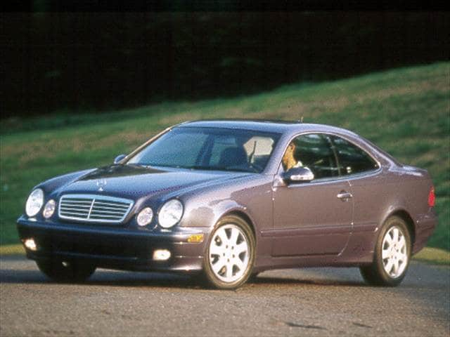 Most Fuel Efficient Luxury Vehicles of 2000 - 2000 Mercedes-Benz CLK-Class