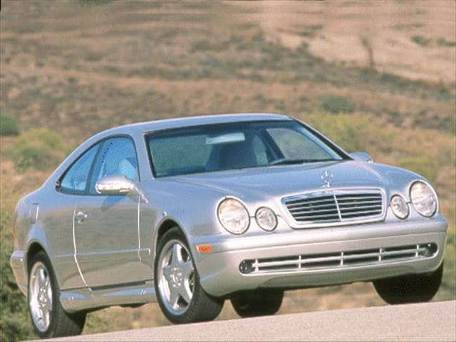 Highest Horsepower Coupes of 2000 - 2000 Mercedes-Benz CLK-Class