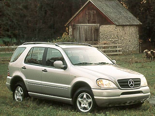 Most Fuel Efficient Crossovers of 2000 - 2000 Mercedes-Benz M-Class