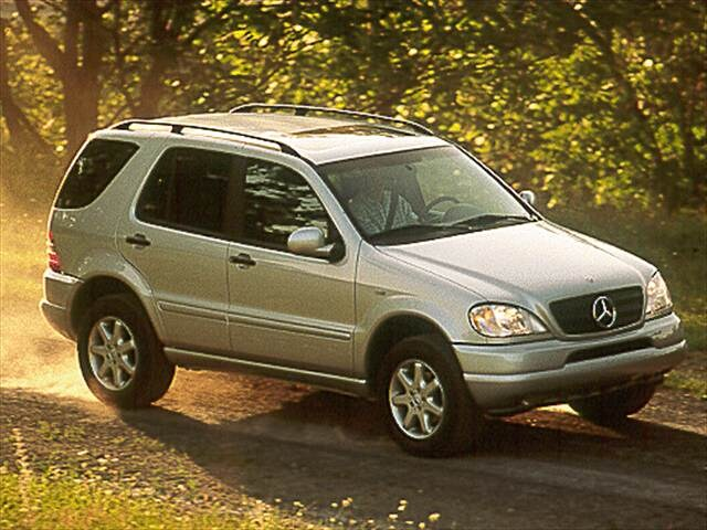 Top Consumer Rated Crossovers of 2000 - 2000 Mercedes-Benz M-Class