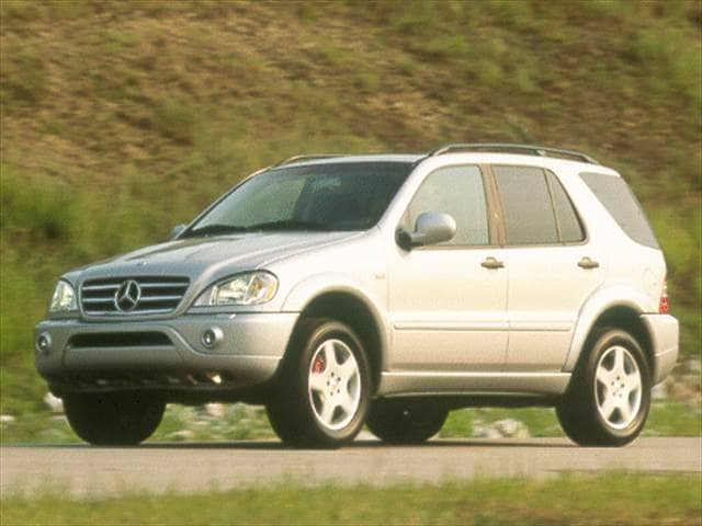 Highest Horsepower SUVs of 2000 - 2000 Mercedes-Benz M-Class