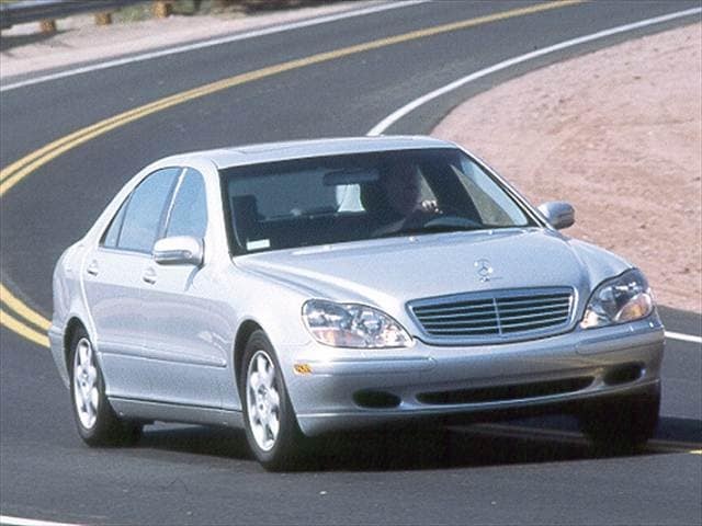Highest Horsepower Sedans of 2000 - 2000 Mercedes-Benz S-Class