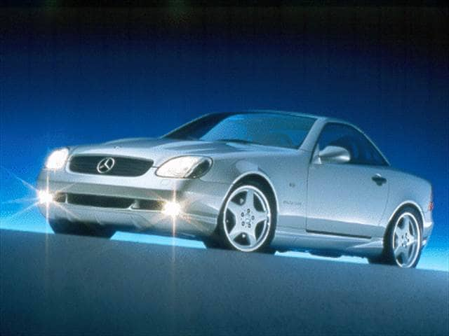 Most Fuel Efficient Luxury Vehicles of 2000 - 2000 Mercedes-Benz SLK-Class