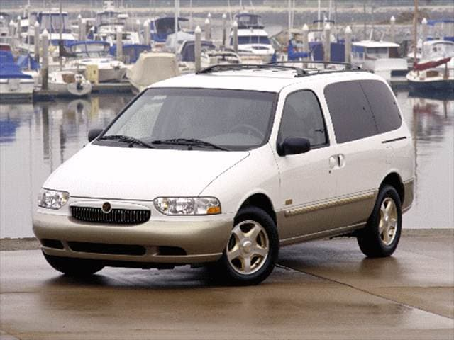 Most Fuel Efficient Vans/Minivans of 2000 - 2000 Mercury Villager