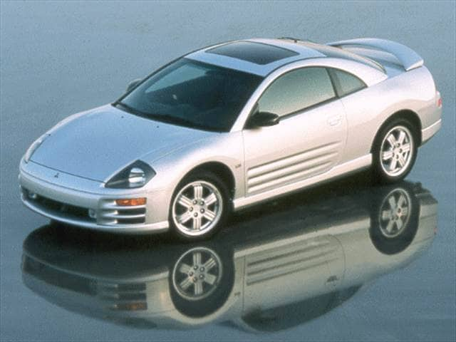 Highest Horsepower Hatchbacks of 2000 - 2000 Mitsubishi Eclipse