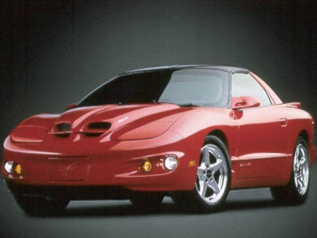 Highest Horsepower Coupes of 2000 - 2000 Pontiac Firebird