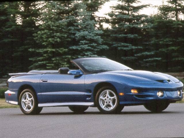 Highest Horsepower Convertibles of 2000 - 2000 Pontiac Firebird