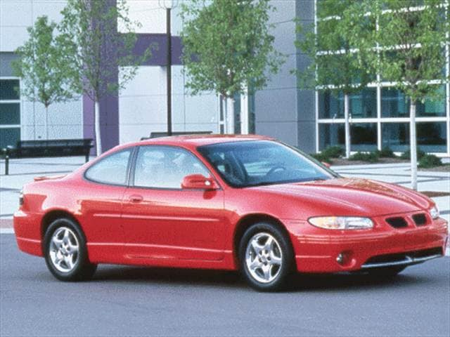 Most Popular Coupes of 2000 - 2000 Pontiac Grand Prix