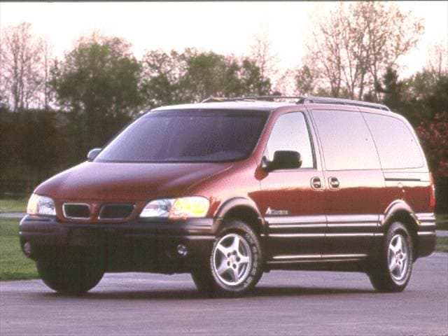 Most Fuel Efficient Vans/Minivans of 2000 - 2000 Pontiac Montana