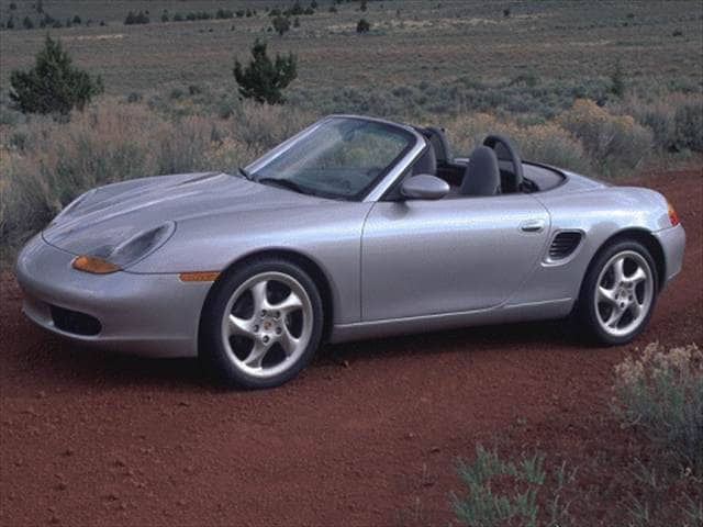Most Fuel Efficient Convertibles of 2000 - 2000 Porsche Boxster