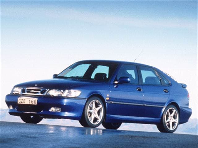 Highest Horsepower Hatchbacks of 2000 - 2000 Saab 9-3