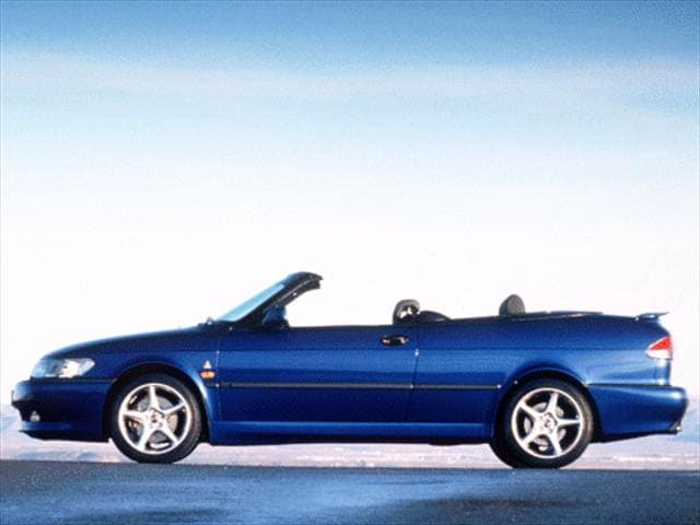 Most Fuel Efficient Convertibles of 2000 - 2000 Saab 9-3