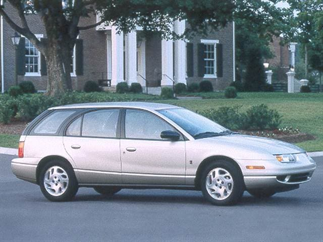 Top Consumer Rated Wagons of 2000 - 2000 Saturn S-Series