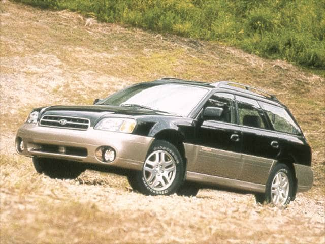 Most Popular Wagons of 2000 - 2000 Subaru Outback