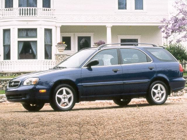 Most Fuel Efficient Wagons of 2000 - 2000 Suzuki Esteem