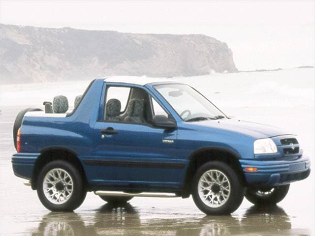 Highest Horsepower Crossovers of 2000 - 2000 Suzuki Vitara