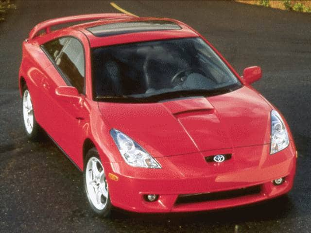 Top Consumer Rated Hatchbacks of 2000 - 2000 Toyota Celica