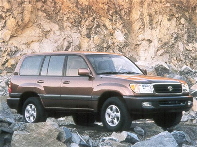 Top Consumer Rated SUVs of 2000 - 2000 Toyota Land Cruiser